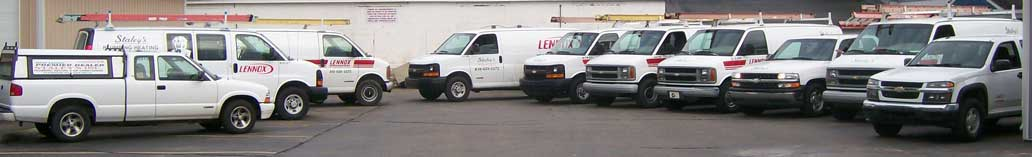 heating and air conditioning repair fleet